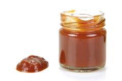 Salsa de tomate Imágenes de archivo libres de regalías