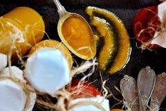 Salsa de tomate de tomate hecha en casa imágenes de archivo libres de regalías