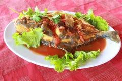 Salsa di pesce Immagini Stock