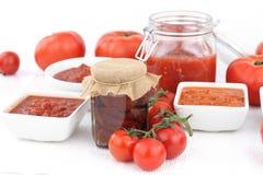 Salsa di pomodori fotografia stock libera da diritti