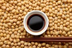 Salsa di soia Fotografie Stock Libere da Diritti