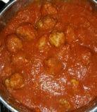 Salsa di spaghetti Immagini Stock