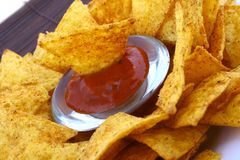 Salsa dip Stock Photos