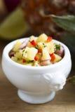 Salsa do abacaxi Imagens de Stock Royalty Free