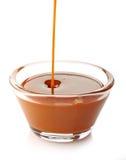 Salsa dulce del caramelo foto de archivo