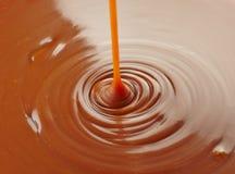 Salsa dulce del caramelo fotografía de archivo libre de regalías