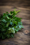 Salsa fresca no fundo de madeira Fotos de Stock Royalty Free