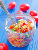 Salsa Royalty Free Stock Images