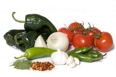 Salsa Ingredients Royalty Free Stock Images
