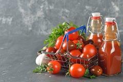 Salsa ketchup Fotografie Stock