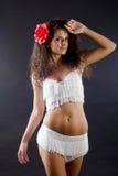 Salsa kobieta zdjęcie stock
