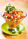 Salsa with melon Royalty Free Stock Photos