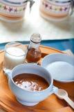 Salsa messicana della caramella di Cajeta Fotografie Stock