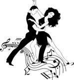 Salsa-Musik Lizenzfreies Stockbild