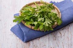 Salsa orgânica fresca Fotos de Stock