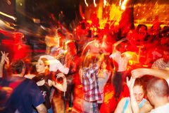 Salsa party Royalty Free Stock Image