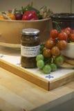 Salsa picante del tomate imágenes de archivo libres de regalías
