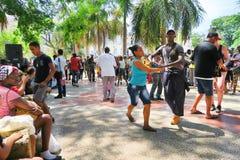 Salsa quente em Havana quente, Cuba Foto de Stock Royalty Free