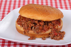 Salsa Sloppy Joe Stock Images
