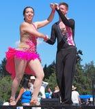 Salsa-Tänzer Stockfoto