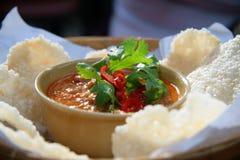 Salsa tailandesa de la inmersión Fotos de archivo