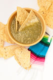 salsa verde Fotografia Stock
