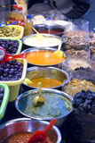 Salsas for sale Royalty Free Stock Images