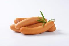 Salsicce viennesi immagini stock