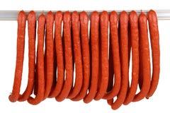 Salsiccia Fotografie Stock Libere da Diritti