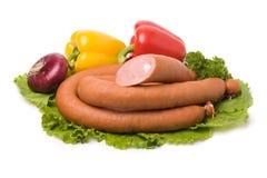 Salsiccia Immagini Stock Libere da Diritti