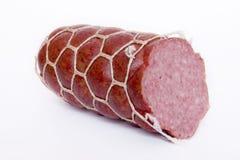 Salsiccia affettata immagine stock