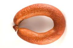 Salsiccia affumicata Fotografie Stock