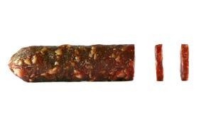 Salsiccia affumicata Fotografia Stock Libera da Diritti