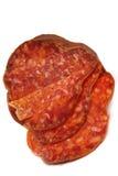 Salsiccia affumicata rossa Fotografia Stock Libera da Diritti