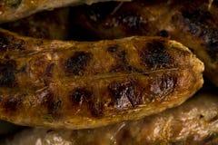 Salsiccia arrostita fotografia stock