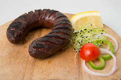 Salsiccia arrostita Immagini Stock Libere da Diritti