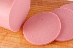 Salsiccia bollita fotografie stock libere da diritti