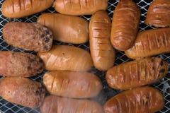Salsiccia del BBQ Immagine Stock Libera da Diritti