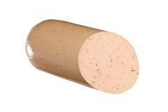 Salsiccia di fegato Fotografia Stock