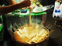 Salsiccia di maiale fermentata Immagini Stock