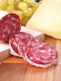 Salsiccia italiana regionale tipica Fotografia Stock Libera da Diritti