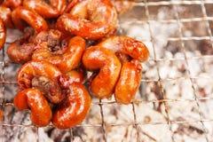 Salsiccia piccante tailandese di Notrhern Immagini Stock