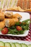 Salsiccia Rolls Immagini Stock