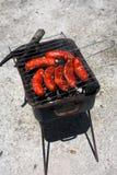 Salsiccia rossa Fotografia Stock Libera da Diritti