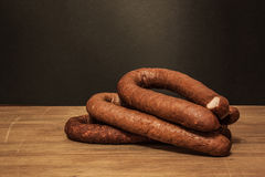 Salsiccia tradizionale Immagini Stock Libere da Diritti