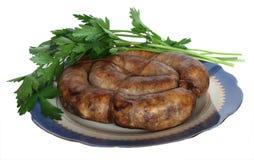 Salsiccia ucraina Fotografia Stock Libera da Diritti