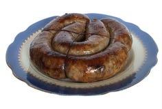 Salsiccia ucraina arrostita Immagini Stock