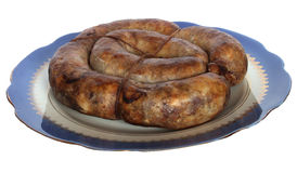 Salsiccia ucraina Fotografie Stock