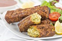 Salsiccia vegetariana Immagini Stock