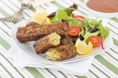 Salsiccia vegetariana Fotografie Stock Libere da Diritti
